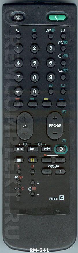 Пульт ДУ для SONY RM-841 [TV]