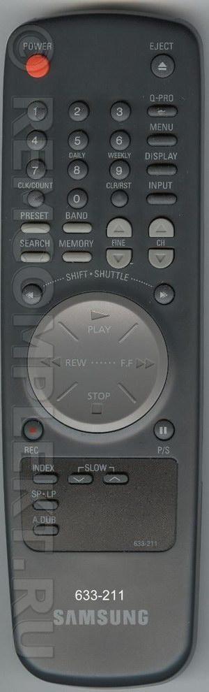 Пульт ДУ SAMSUNG 633-211 оригинал.