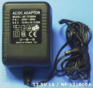 Адаптер 13,5V 1A (NF-131000A)