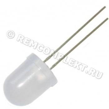 Светодиод 10mm RGB 3,2V мигающий матовый (опт. цена от 100 шт)