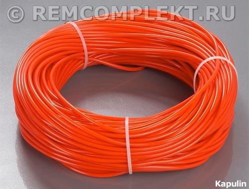 Холодный неон 3,2-50 Kapulin (красный) 1 метр бухта 50 метров