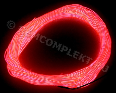 Холодный неон 3,2-50 (Розовый) 1м бухта 50 метров
