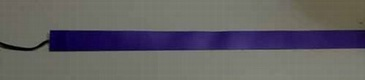 Светящаяся бумага лента 2 см х 100 см синяя, ламинированная