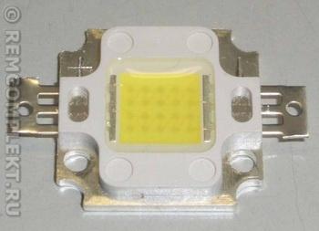 Светодиод 10W 850-950Lm 6000-6500k 9-11V 1000mA (опт. цена от 16 шт)