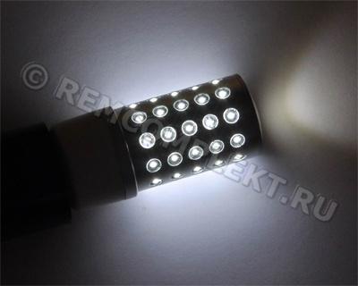 Светодиодная лампа E27-51 холодная белая 51 светодиод 2,7W