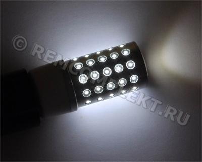 Светодиодная лампа E14-51 холодная белая 51 светодиод 2,7W