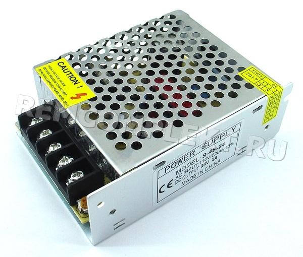 Блок питания 24V 2A (HF48W-S-24) встраиваемый (опт. цена от 10 шт)