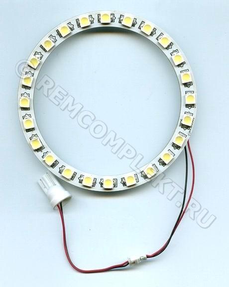 Ангельские глазки 5050 белые 5500-6500 24 светодиода d9cm 12V (опт. цена от 10шт)