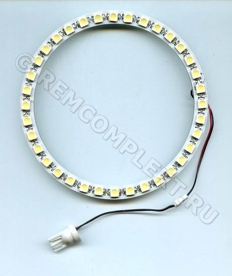 Ангельские глазки 5050 белые 5500-6500 36 светодиодов d11cm 12V (опт. цена от 4 шт)