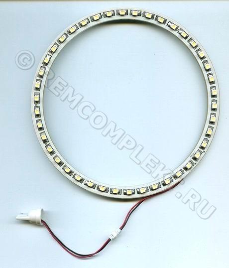 Ангельские глазки 3528 белые 5500-6500 42 светодиода d13cm 12V (опт. цена от 4 шт)