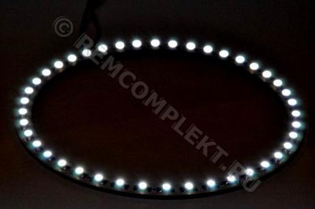 Ангельские глазки 3528 белые 5500-6500 42 светодиода d14cm 12V (опт. цена от 4 шт)