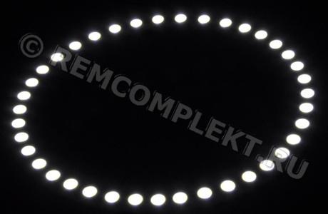 Ангельские глазки 5050 белые 5500-6500 39 светодиодов d12cm 12V (опт. цена от 10 шт)