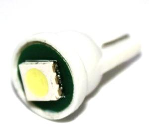 Светодиодная автолампа T10 1 светодиод 5050 белая