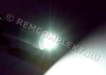 Светодиодная автолампа T5 1 светодиод smd white 12V белая
