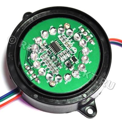 Модуль LM1X18-RGB Black mat