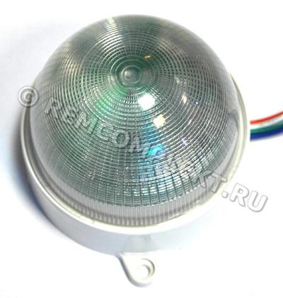 Модуль LM1X18-RGB White glass