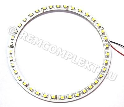 Ангельские глазки 3528 белые 2800-3500k 39 светодиодов d12cm 12V (опт. цена от 4 шт)