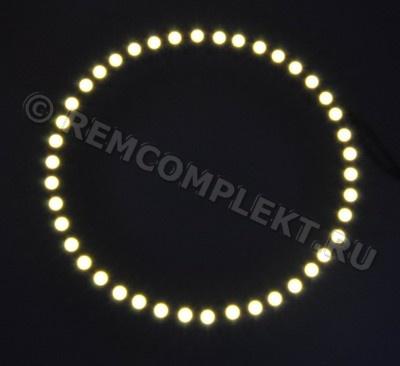 Ангельские глазки 3528 белые 2800-3500k 42 светодиода d13cm 12V (опт. цена от 4 шт)