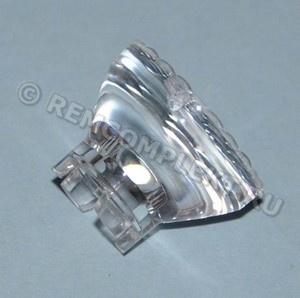 Линза для светодиода №1 d18,6mm h13,8mm 15° (опт. цена от 10 шт)