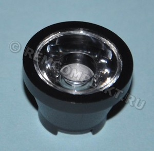 Линза для светодиода №14 d18,5mm h13,4mm 15° (опт. цена от 100шт)