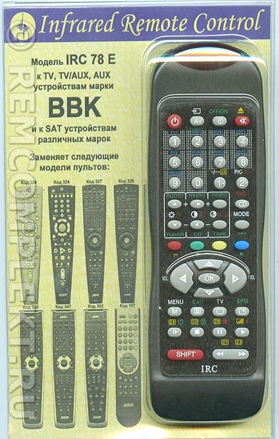 BBK IRC 78 E.