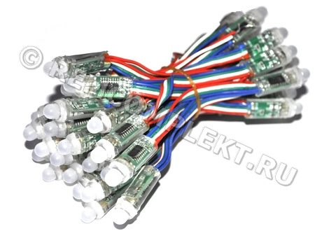 LED DMX512 Pixel Strip RGB LPS5P5V (IC 6803)