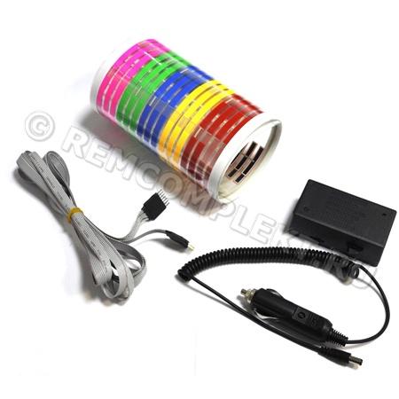 Светящаяся бумага эквалайзер RGB 70x16см