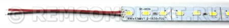 Светодиодный модуль 1м 5730 4000K 72 светодиода 12V 1,5А (опт. цена от 10 шт)