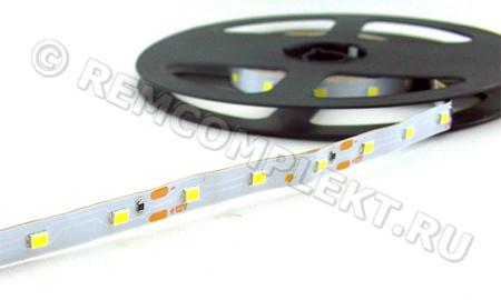 Светодиодная лента 2835 CW 60 led/m 12V 0,80A IP20 (опт. цена от 25 м)