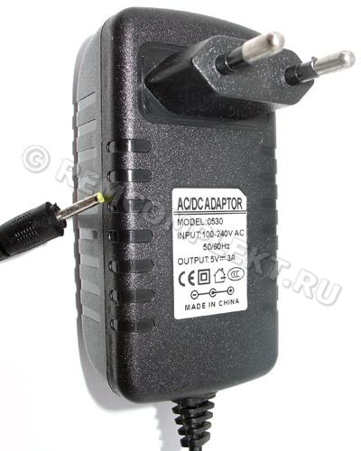 Блок питания 5V 3A 15W в корпусе разъем 2.5x0.7 (опт. цена от 10 шт)