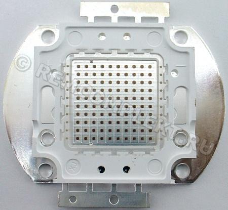 Светодиод 100W красный 3000mA 21-23V (опт. цена от 2 шт)