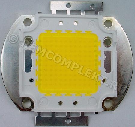 Светодиод 100W WW 3000mA 31-33V (опт. цена от 2 шт)